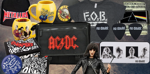 rock music merchandise
