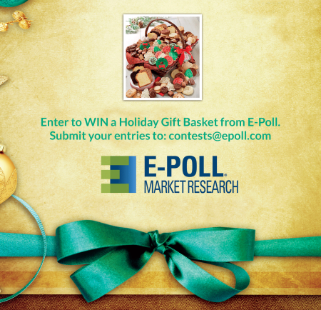 Win a gift basket from E-Poll Market Research