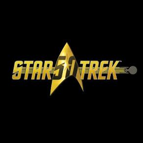Star Trek 50th Logo square